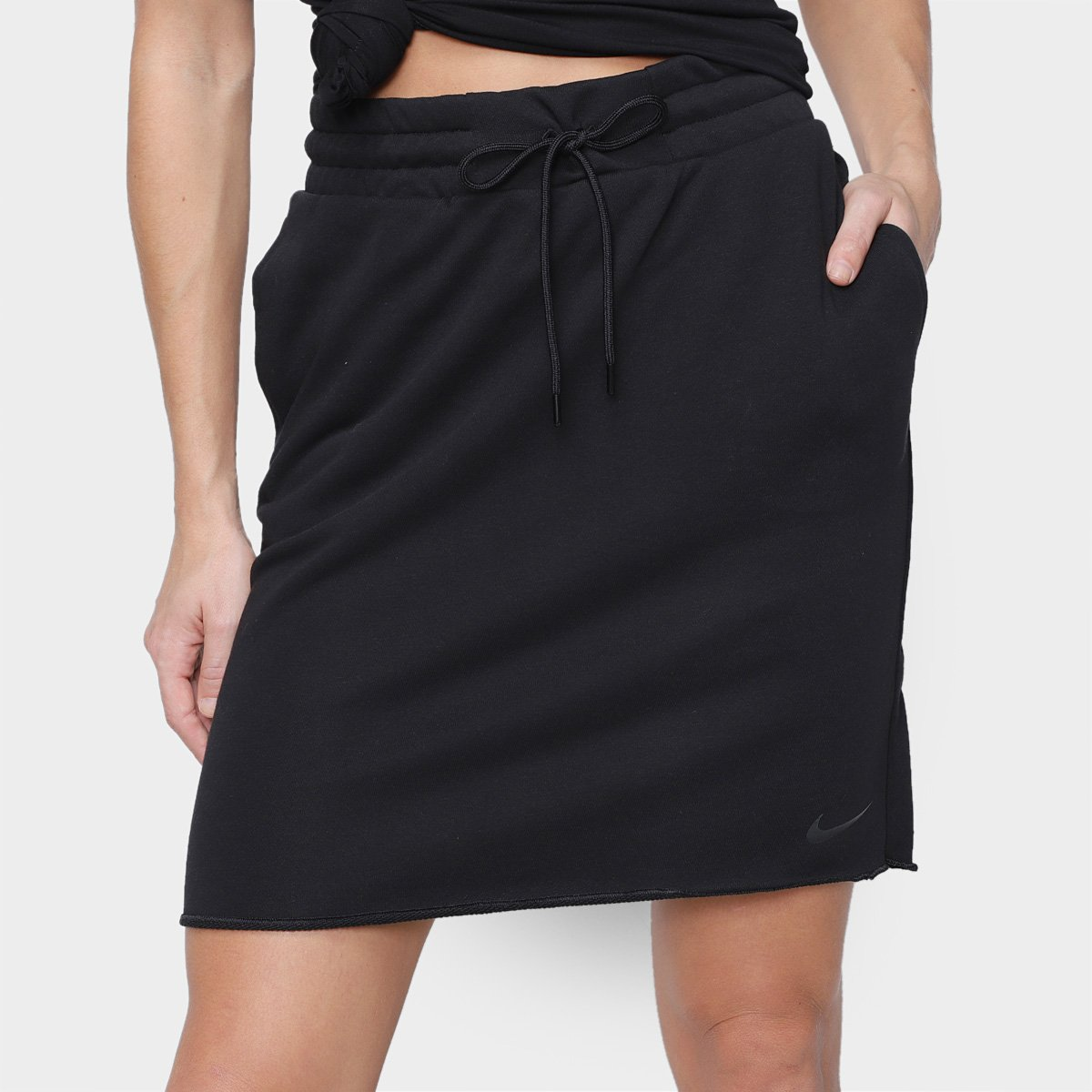 Saia Nike Icn Clash Skirt Ft Feminino