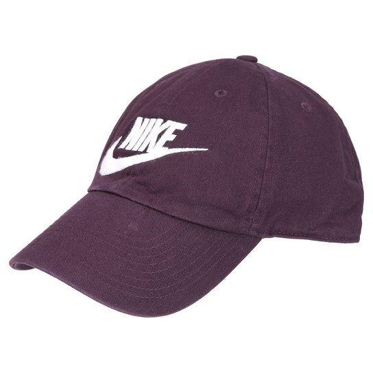 dcd3889c0f298 Boné Nike Aba Curva Heritage 86-Futura - Compre Agora