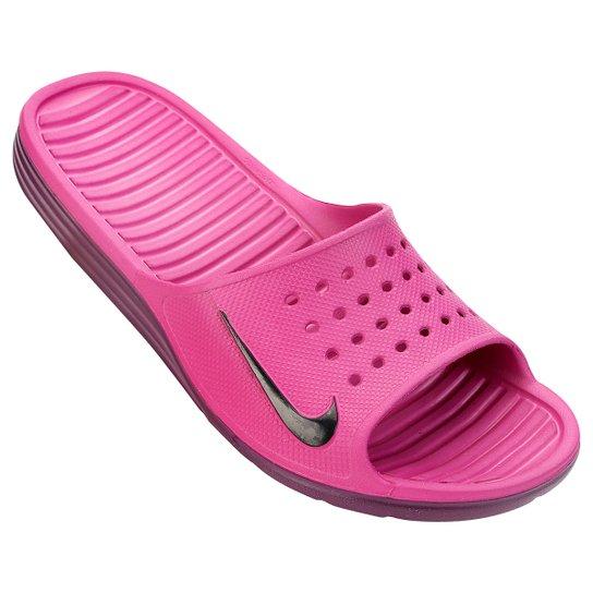 dbd4b5fc3f18 Sandália Nike Solarsoft Slide - Compre Agora