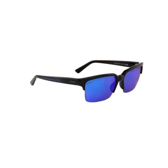 5ec868d56 Óculos de Sol Emporio Armani 100% Proteção U.V. Tartarugado - Marrom  Escuro+Preto