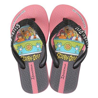 Chinelo Infantil Grendene Kids Ipanema Scooby Doo