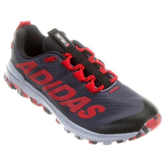 d3fb765b29d Tênis Adidas Vigor 6 TR - Chumbo+Vermelho