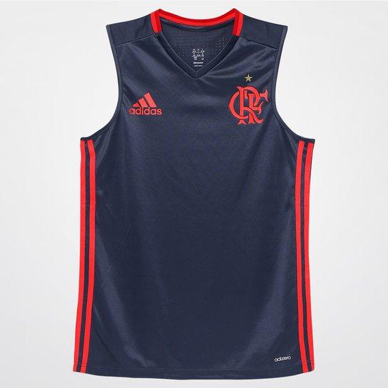 1794486b8f Camiseta Regata Infantil Adidas Flamengo Treino - Compre Agora ...