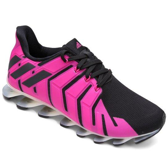 a4c6417c3ce ... Tênis Adidas Springblade Pro Feminino - Pink+Preto ...