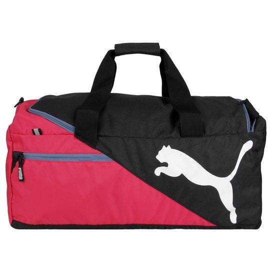 18e465e0a4 Bolsa Puma Fundamentals Sports M - Rosa+Preto
