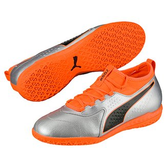 c51437b6f1 Chuteira Futsal Puma One 3 Lth IT BDP