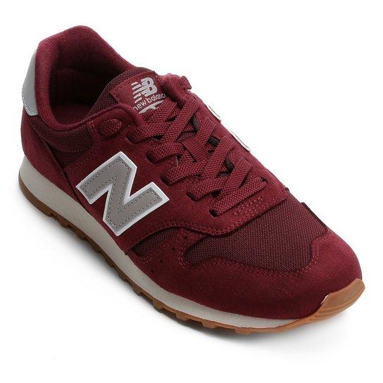 7ac9f0822af23 Tênis New Balance 373 Core Masculino - Vinho e Branco | Netshoes