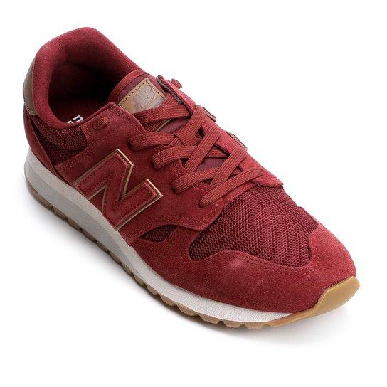 83eef63409 ... dce62a1e628 Tênis Couro New Balance 520 - Vinho e Branco - Compre Agora  Netshoes