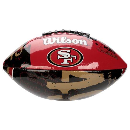 Bola de Futebol Americano Wilson San Francisco 49ers - Compre Agora ... 39081e5c1f1ca
