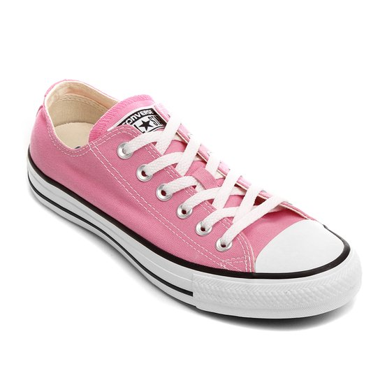 Tênis Converse All Star Ct As Core Ox - Rosa e Branco - Compre Agora ... 8b7be62fc66e4