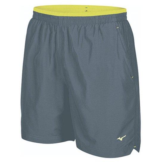 Bermuda Mizuno Tennis Master Masculina - Chumbo+Verde Limão 854d08cb38d56