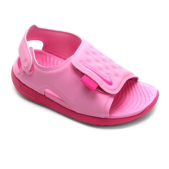 f9c018c62 Sandália Infantil Nike Sunray Adjust 5 - Rosa Claro e Pink | Netshoes