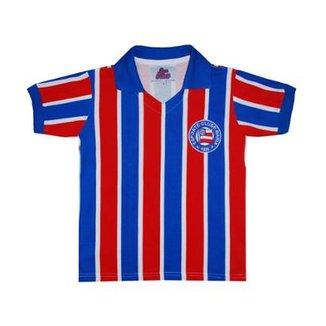Camisa Liga Retrô Bahia 1959 Listrado Infantil 749d8263e0