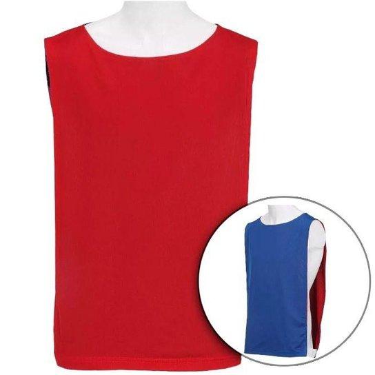 Colete Dupla Face - Kit 15 Peças - Vermelho e Azul - Compre Agora ... cd76b4d18625a