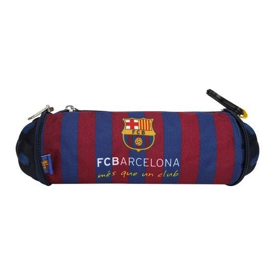 16fdb9cf7a399 Estojo Escolar Barcelona Bola - Compre Agora