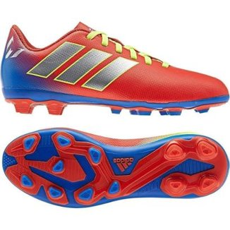 Chuteira Campo Infantil Adidas Nemeziz Messi 18 4 FG ee44a091005e6
