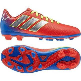 636f2d8fb7 Chuteira Campo Infantil Adidas Nemeziz Messi 18 4 FG