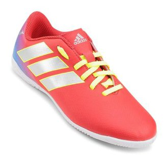 new concept 2249c 5f933 Chuteira Futsal Infantil Adidas Nemeziz Messi 18 4 IN