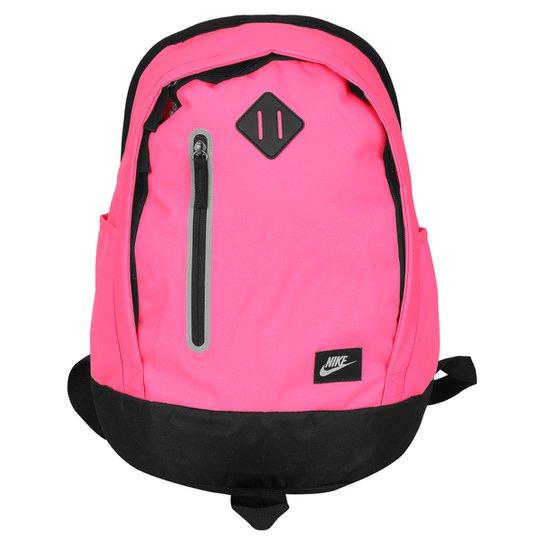 2224c0319 Mochila Nike Ya Cheyenne Solid Bp Infantil - Rosa+Preto