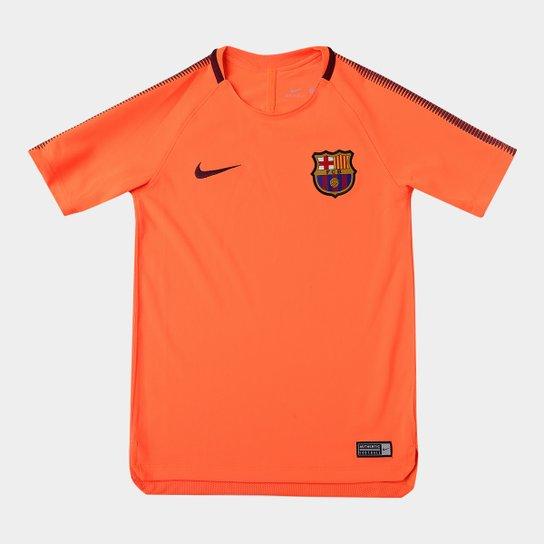 d4e3e406aa Camiseta Barcelona Infantil Nike Squad Top - Compre Agora