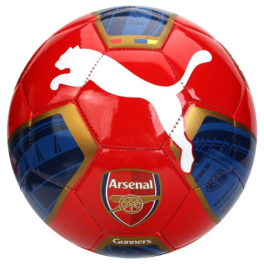 Bola Futebol Puma Arsenal Fan 1 Campo - Compre Agora  e7150d9f79b4f