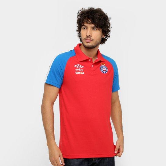 c02187d454 Camisa Polo Bahia Umbro Viagem 17 18 Masculina - Compre Agora