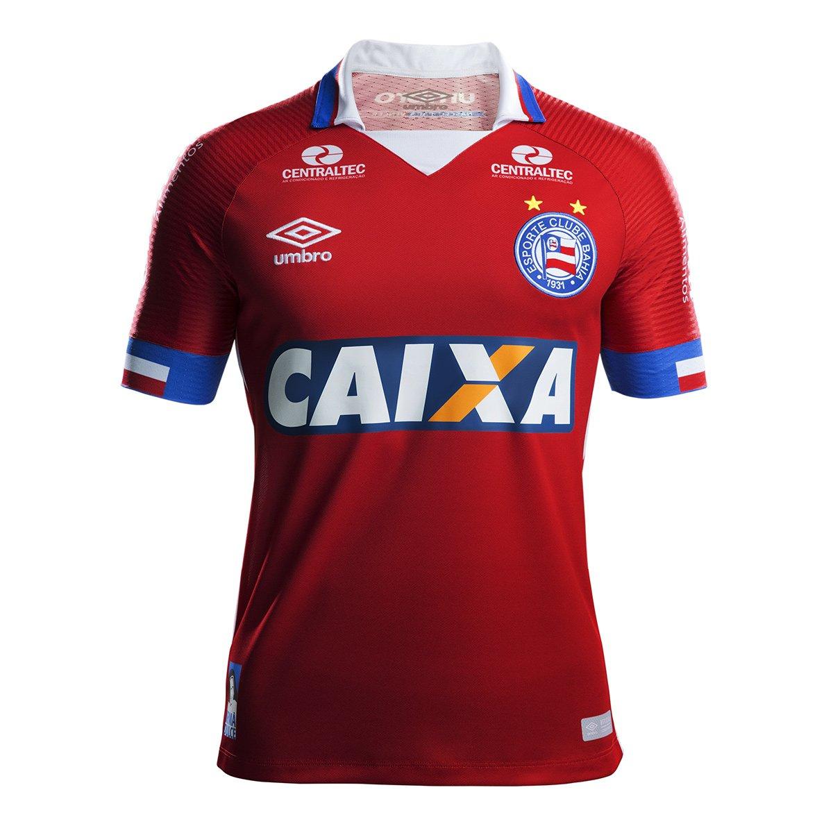 Camisa Bahia Juvenil III 17/18 s/n° - Torcedor Umbro