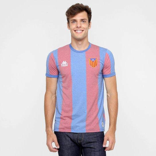 Camiseta Kappa Catalunha 17 Masculina - Compre Agora  c2ce2ebb0c0eb