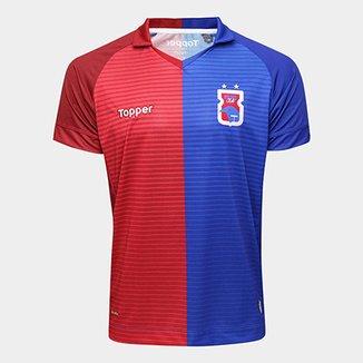 Camisa Paraná I 2017 s n° Torcedor Topper Masculina 12cf2c5f4e05b