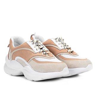 ec0215118 Tênis Chunky Capodarte Sneaker Feminino