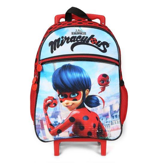 Mochila de Rodinhas Infantil Escolar Pacific Ladybug - Compre Agora ... 73a06525a3a93