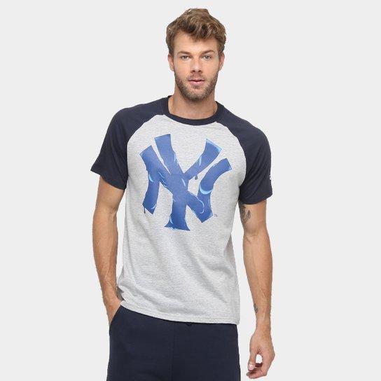 Camiseta New Era MLB Nac Melted 4 New York Yankees - Compre Agora ... 564dd5c423b