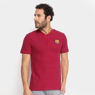 fef26d8819dc5 Camisa Polo Barcelona Grand Slam Nike Masculina
