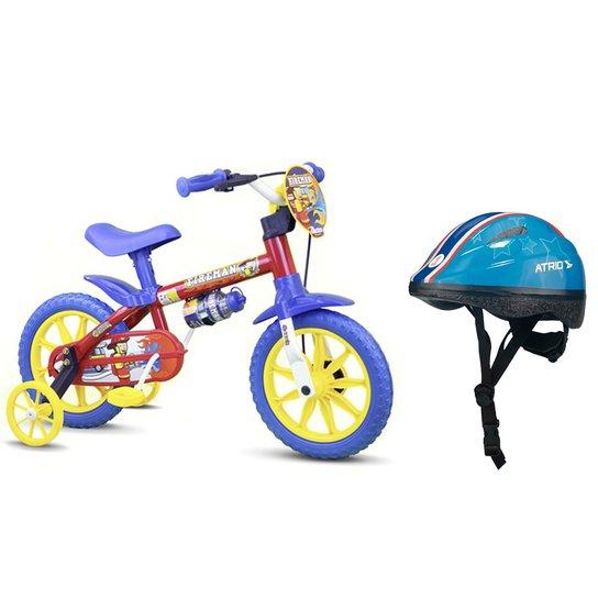 a7c3ab2d5 Bicicleta Infantil Aro 12 Fireman + Capacete Infantil - Compre Agora ...