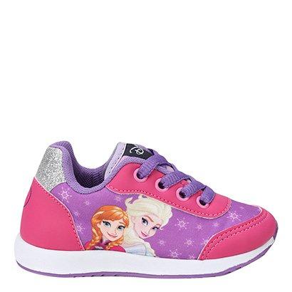 Tênis Infantil Disney Anna e Elza Feminino