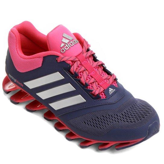 new product 86b15 fb565 Tênis Adidas Springblade Drive 3 Feminino - Roxo+Rosa