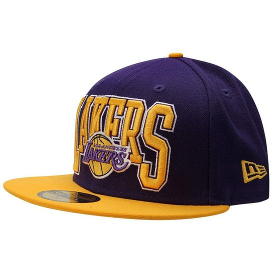 37fc8b61b Boné New Era NBA 5950 2Tb Los Angeles Lakers - Compre Agora