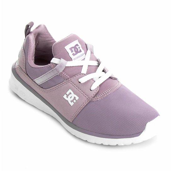 7a33ff7d151 Tênis DC Shoes Heathrow Imp Feminino - Roxo - Compre Agora