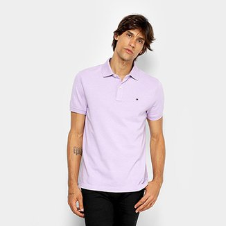 1417523ca9 Camisa Polo Tommy Hilfiger Básica Masculina