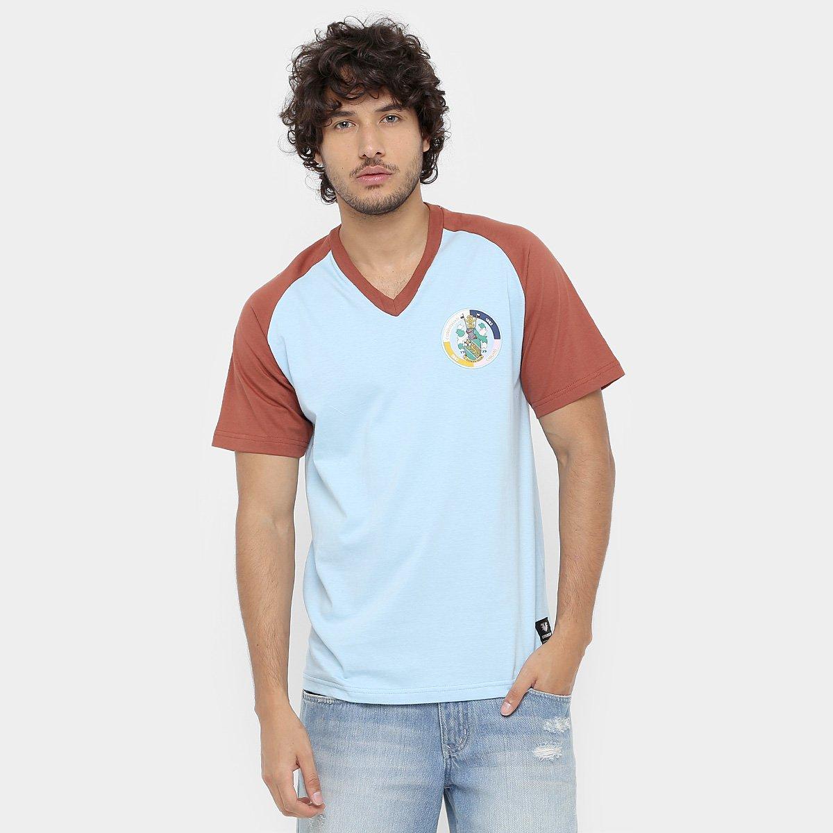 Camisa Retrô Corinthian-Casuals Masculina 76ab5e57e9685