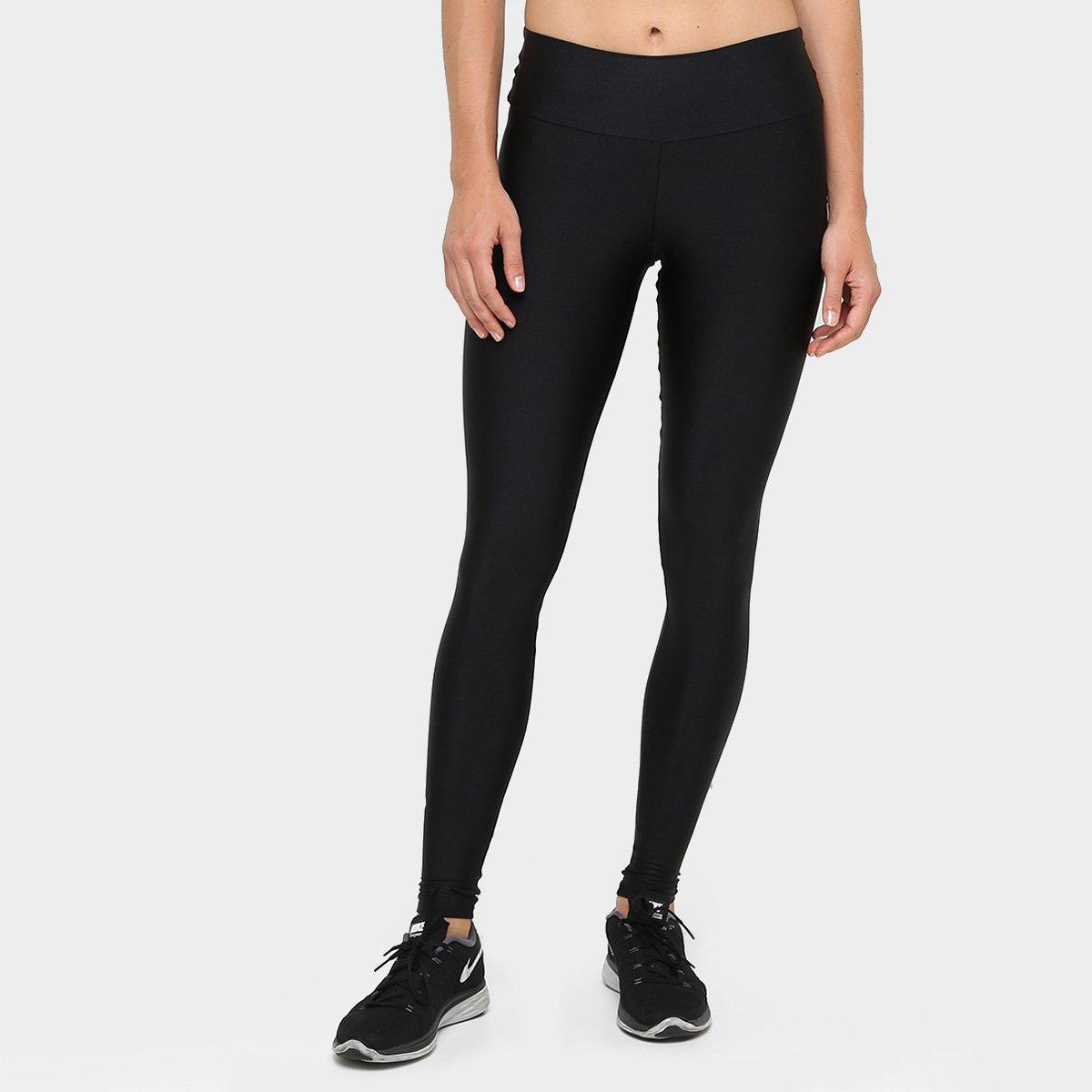 Calça Legging Live Fusô Glossy Effect Feminina