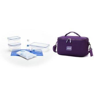 5d2fc85011dfb Bolsa Térmica Notecare Neoprene - Plus 5,5 litros 3 Potes
