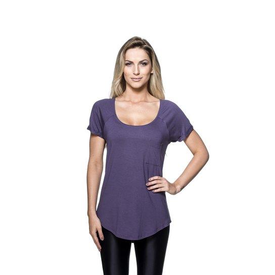 Camiseta Mulher Elástica New Pocket - Compre Agora  bd26afbef69