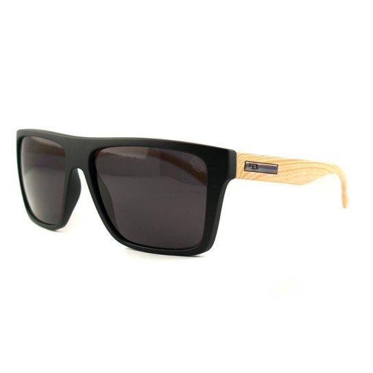 a98a0400e Óculos HB Floy Fosco - Preto+Bege