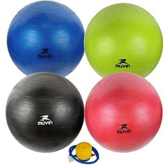 Bola Pilates Fitball Com Bomba Muvin b93732a78492