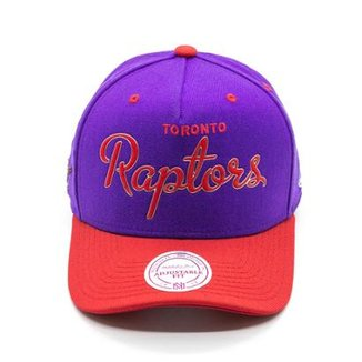Boné Mitchell   Ness Sonic NBA Toronto Raptors Aba Curva a713b252782