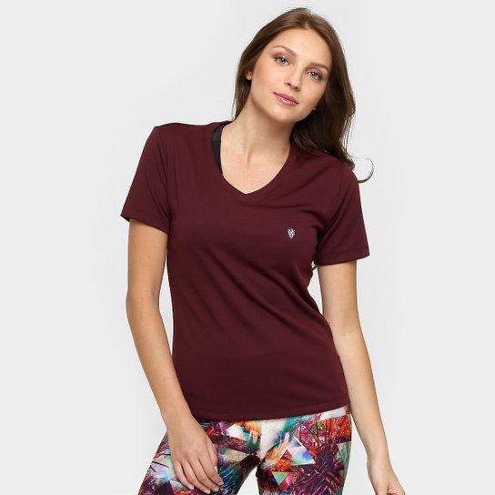 099285dfa4 Camiseta GONEW Lola Basic Feminina - Bordô