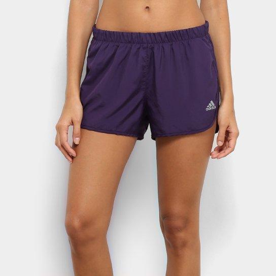 84d461d2b Short Adidas M10 Feminino - Roxo | Netshoes