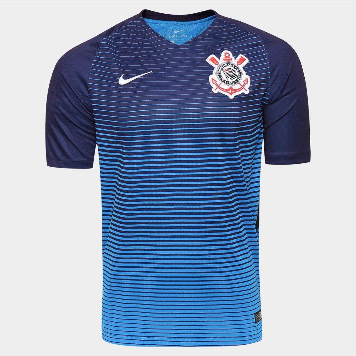 ae27ecd4ef983 Camisa Corinthians III 2016 s nº Torcedor Nike Masculina