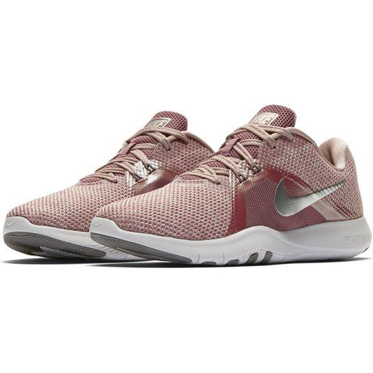 Tênis Nike Flex Trainer 8 Premium Feminino - Rosa Antigo - Compre ... 9057e154c8975